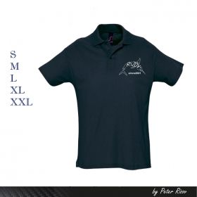 MEN'S POLO SHIRT DARK BLUE