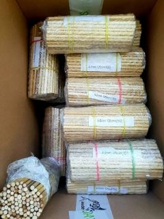SARKANDA REED FOR FLOAT MAKING x 12 pcs