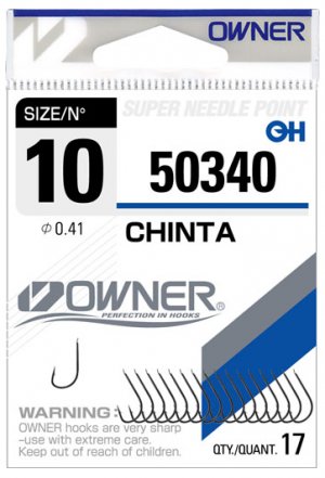 OWNER HOOKS   CHINTA 50340